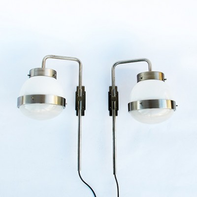 Delta Sconces Wall Lamp by Sergio Mazza for Artemide