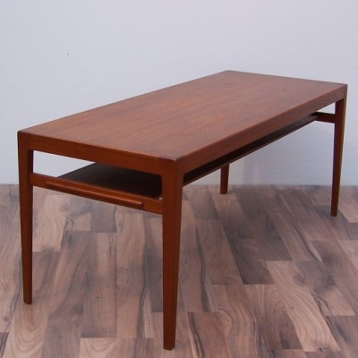 Coffee table from the fifties by Ludvig Pontoppidan for L. Pontoppidan