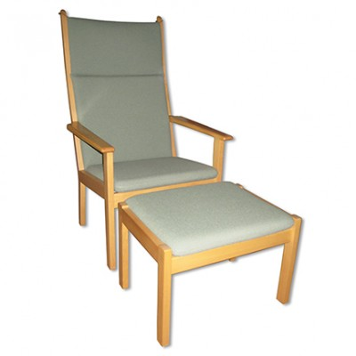 2 x GE 284A lounge chair by Hans J. Wegner for Getama, 1980s