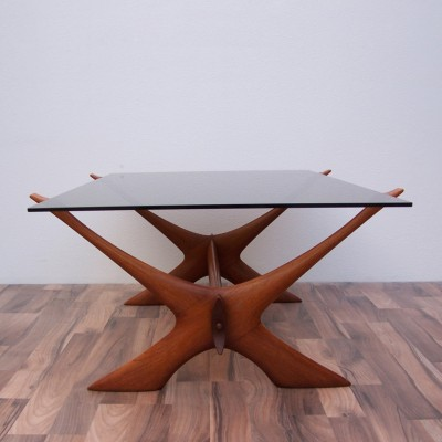 Coffee table from the fifties by Illum Wikkelsø for Søren Willadsen