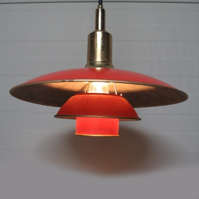 Pair of PH 3/2 Jubilee hanging lamps by Poul Henningsen for Louis Poulsen, 1920s
