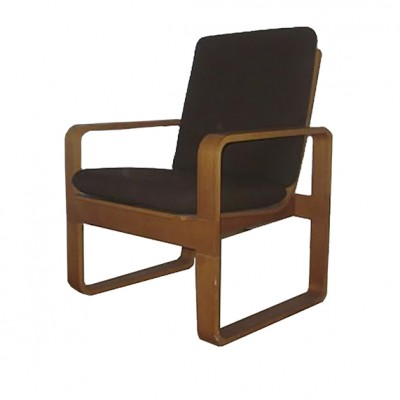 3 lounge chairs from the sixties by Rud Thygesen for Magnus Olesen
