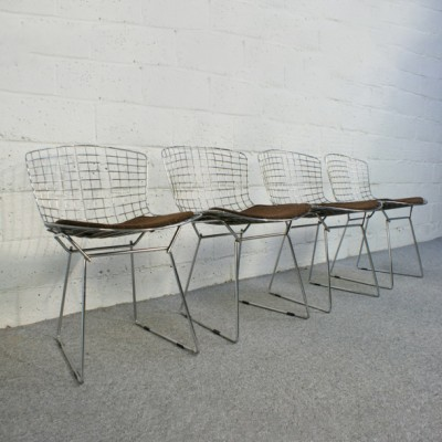 Bertoia Side Chair Dinner Chair by Harry Bertoia for Knoll International