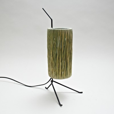 Tripod Nightlamp desk lamp by Jacques Biny, 1950s