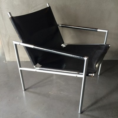 2 SZ02 lounge chairs from the sixties by Martin Visser for Spectrum
