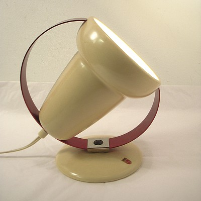 Infraphil desk lamp from the fifties by Charlotte Perriand for Philips
