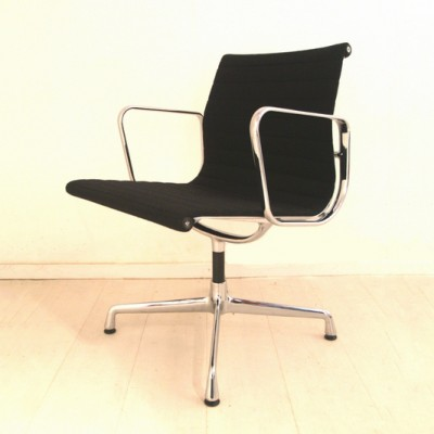 5 x EA 107 dinner chair by Charles & Ray Eames for Vitra, 1980s