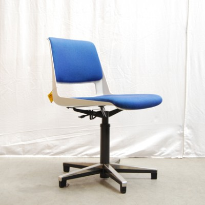 Gispen No. 2532 office chair from the seventies by André Cordemeyer for Gispen