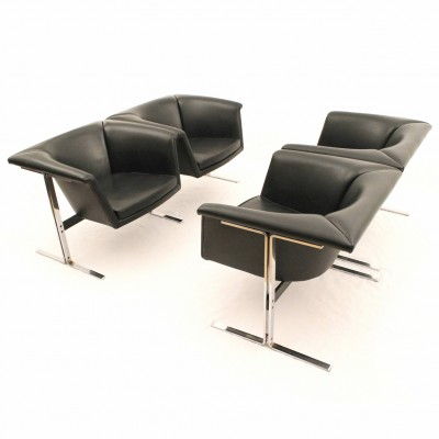 042 and 043 Seating Group by Geoffrey Harcourt for Artifort