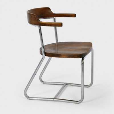 2 K 16 lounge chairs from the thirties by unknown designer for Robert Slezák