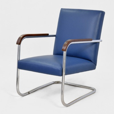 B 36 P lounge chair from the thirties by Anton Lorenz for Mücke Melder