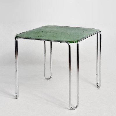 Model B 10 dining table from the thirties by Marcel Breuer for Thonet