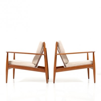 Model 118 lounge chair from the fifties by Grete Jalk for France & Daverkosen