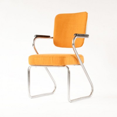 Office chair by Paul Schuitema for Fana Metal, 1960s