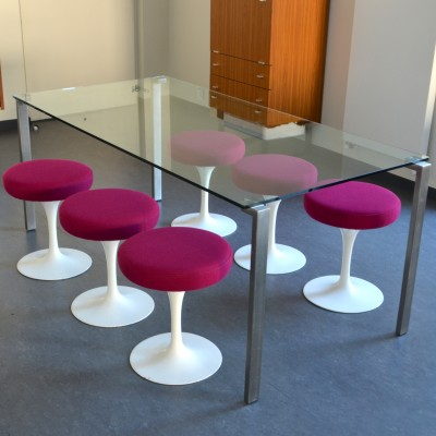 1=2 dining table by Jean Nouvel for Zeritalia, 1980s