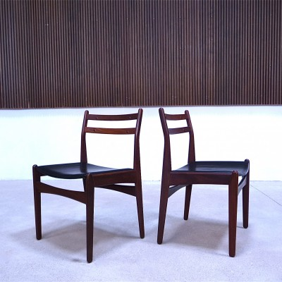 Set of 6 Danish Teak Dining Chairs by Frem Rølje, 1960S