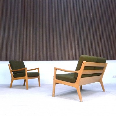 Pair of seating groups by Ole Wanscher for Cado