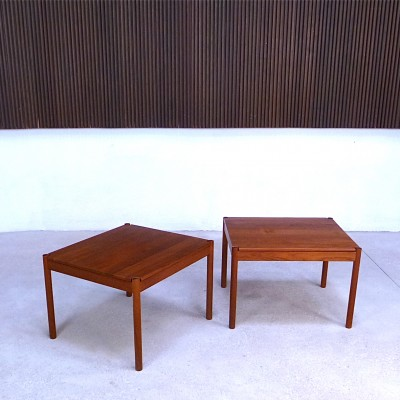 Pair of Magnus Olesen side tables, 1960s