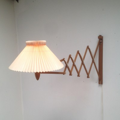 Wall lamp by Erik Hansen for Le Klint, 1950s