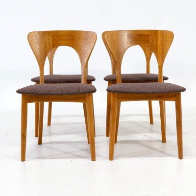 Set of 4 Peter dining chairs by Niels Kofoed for Koefoeds Hornslet