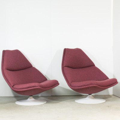 F590 Lounge Chair by Geoffrey Harcourt for Artifort