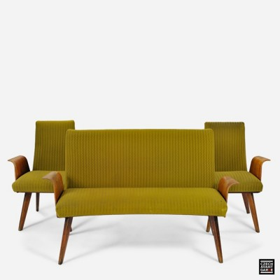 3 Grand Hotel seating groups from the fifties by unknown designer for unknown producer