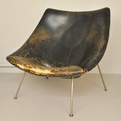 Oyster / F157 Lounge Chair by Pierre Paulin for Artifort