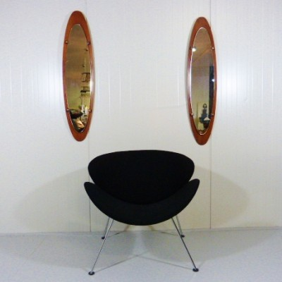 Pair of Mobili Polli mirrors, 1950s