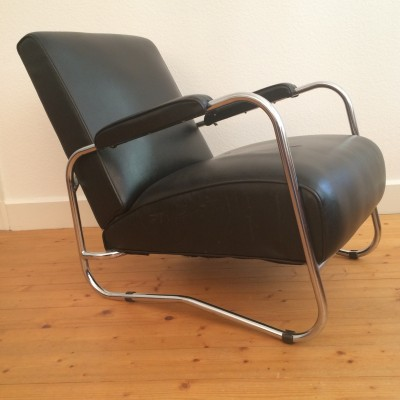 Vintage lounge chair, 1940s