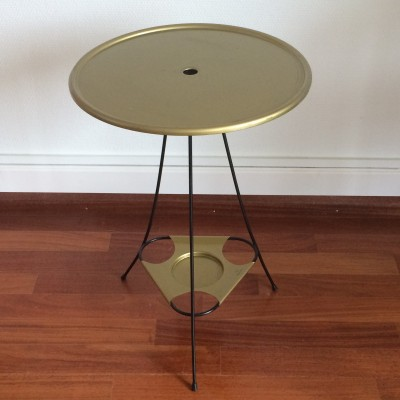 Servi Tisch side table from the sixties by Wilhelm Kienzle for Mewa