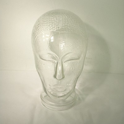 Glass Head from the seventies by unknown designer for unknown producer