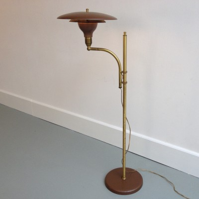 Sight floor lamp by M G Wheeler, 1930s