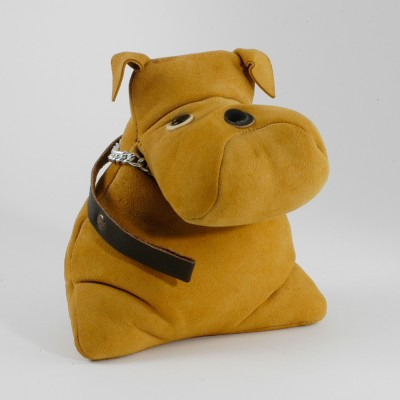 Leather Dog by Unknown Designer for Sallingboe Denmark