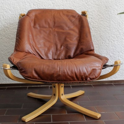 Falcon lounge chair by Sigurd Ressell for Vatne Møbler, 1970s