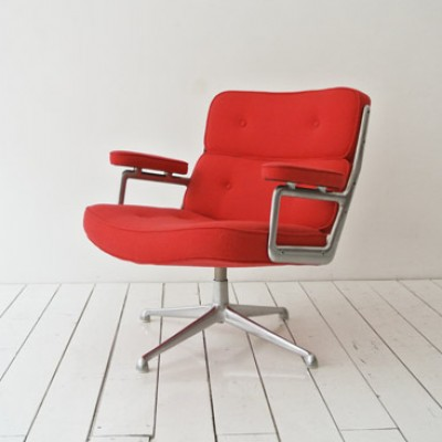 Lobby Hopsak Lounge Chair by Charles and Ray Eames for Herman Miller