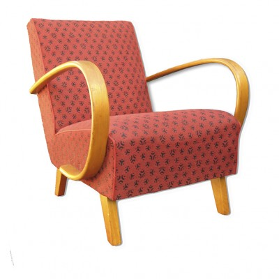 No. 2 lounge chair from the thirties by Jindřich Halabala for UP Závody Brno
