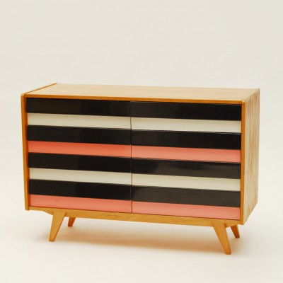 3 chest of drawers from the sixties by Jiří Jiroutek for Interier Praha