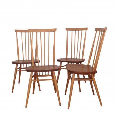 Spindle Dinner Chair by Lucian Randolph Ercolani for Ercol