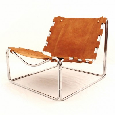 Fabio lounge chair by Pascal Mourgue for Steiner, 1960s