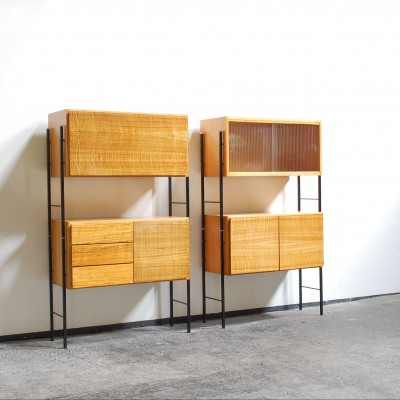 Pair of cabinets by Coen de Vries for Everest, 1950s