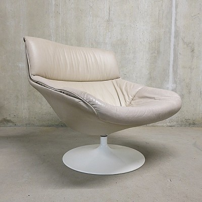 F522 Lounge Chair by Geoffrey Harcourt for Artifort