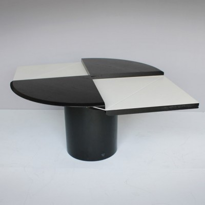 Quadrondo dining table by Erwin Nagel for Rosenthal, 1970s