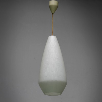 Hanging lamp from the fifties by unknown designer for Peill & Pützler