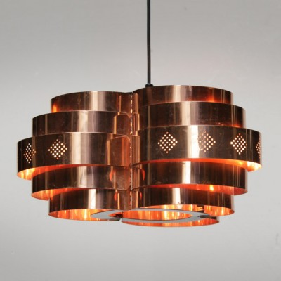 Danish Pendant by Verner Schou for Coronell Elektro