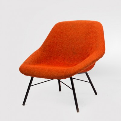 Lounge Chair by Magda Sepova for Ton