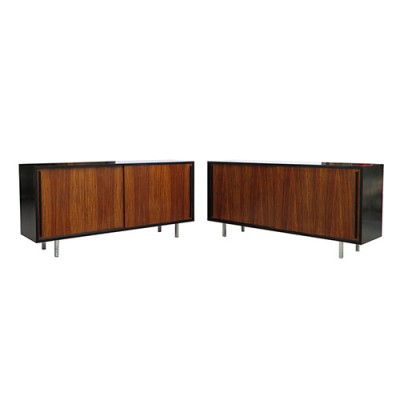 2 sideboards from the sixties by unknown designer for unknown producer