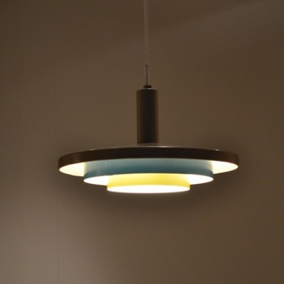 NT23C/00 Hanging Lamp by Unknown Designer for Philips
