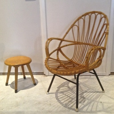 Lounge chair from the sixties by unknown designer for Rohé Noordwolde