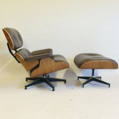 670 & 671 Lounge Chair by Charles and Ray Eames for Herman Miller