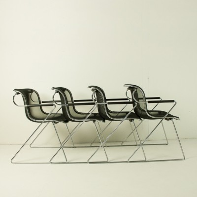 Penelope Dinner Chair by Charles Pollock for Castelli